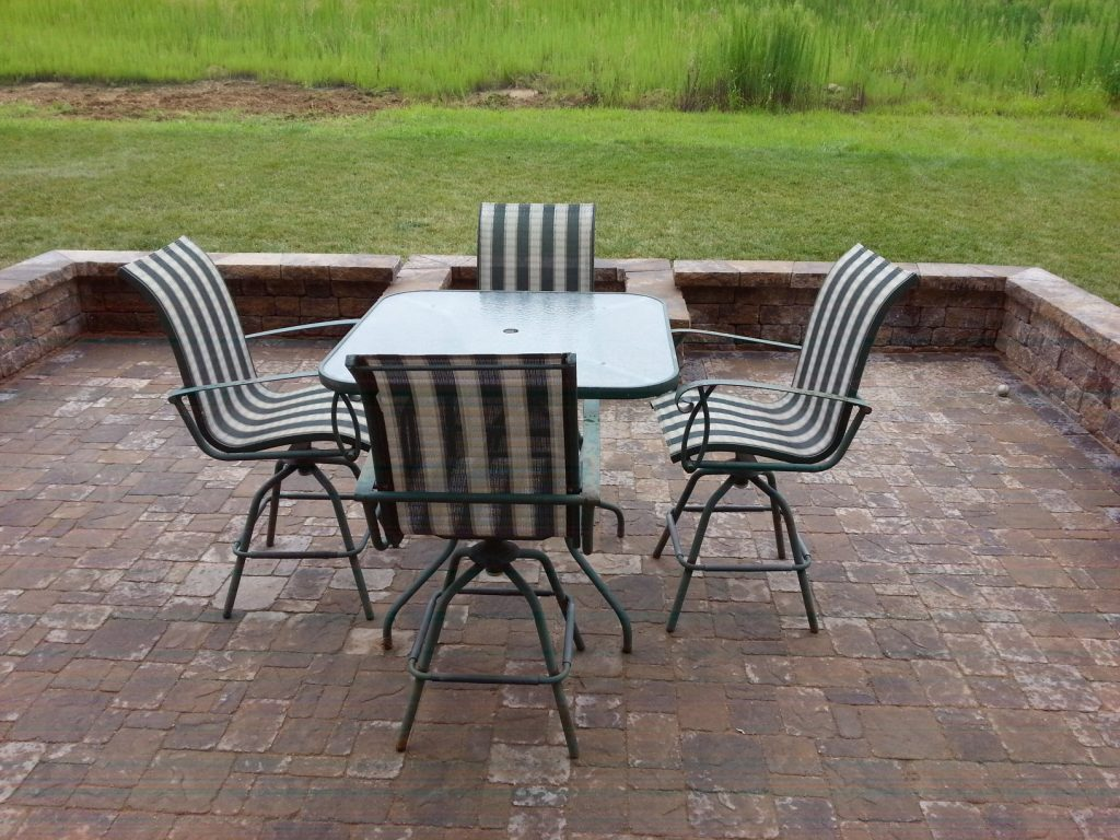 Omaha Landscaping Paver Patio by Above and Beyond Complete Grounds Maintenance