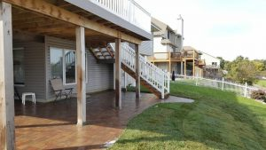 Omaha Paver Patio By Above And Beyond