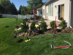 Installing Omaha Lawn Sprinkler System